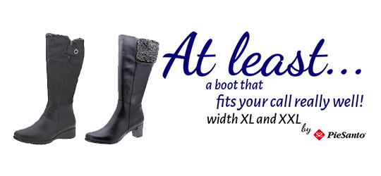 <p>Discover our wide boots to enjoy walking this winter season.</p>