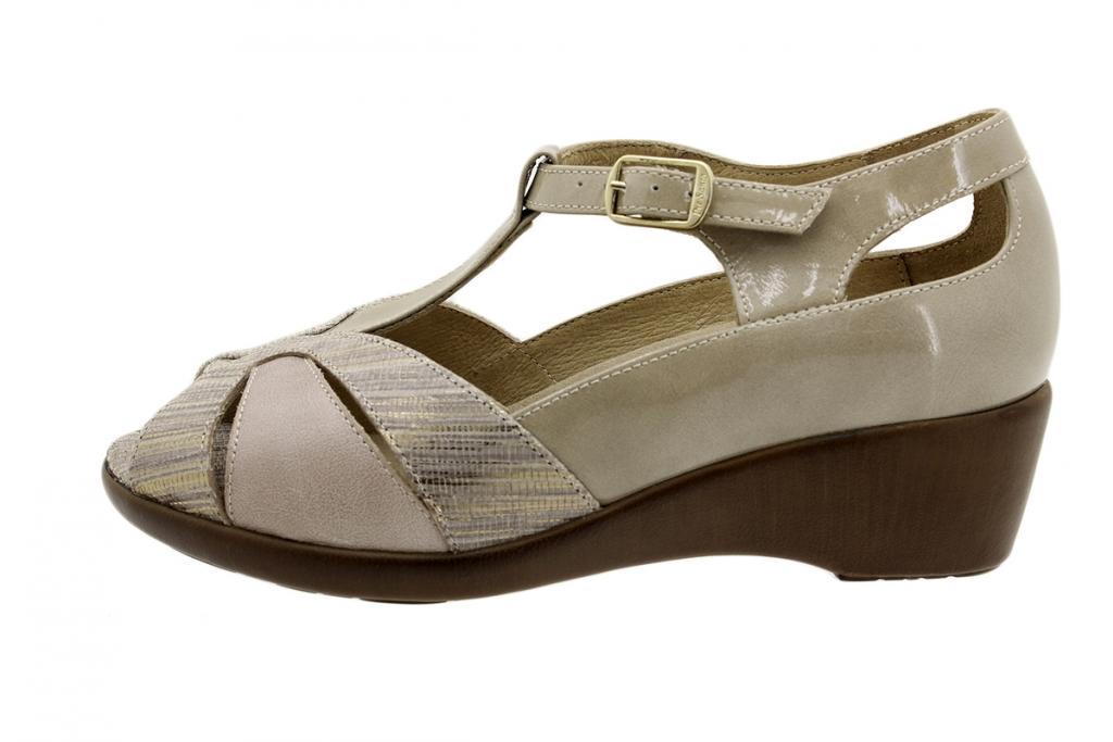 Removable Insole Sandal Mink Metal 1160