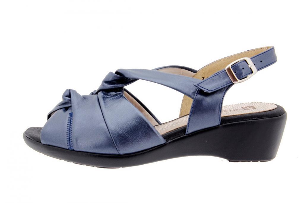 Wegde Sandal Pearly Blue 1561
