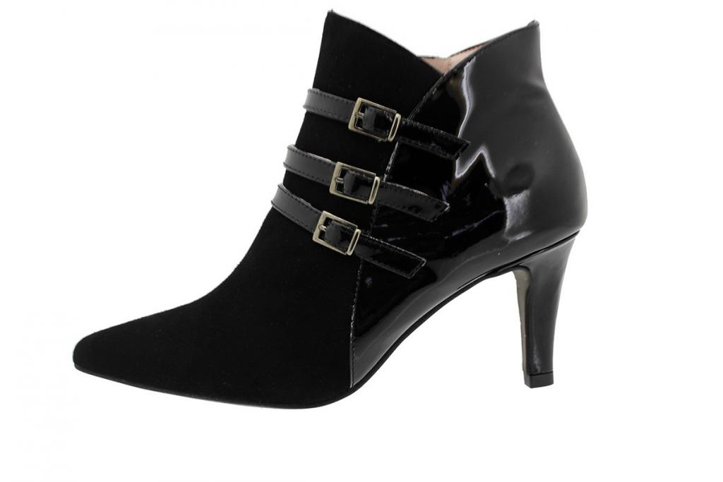 Ankle Boot Suede Black 175192