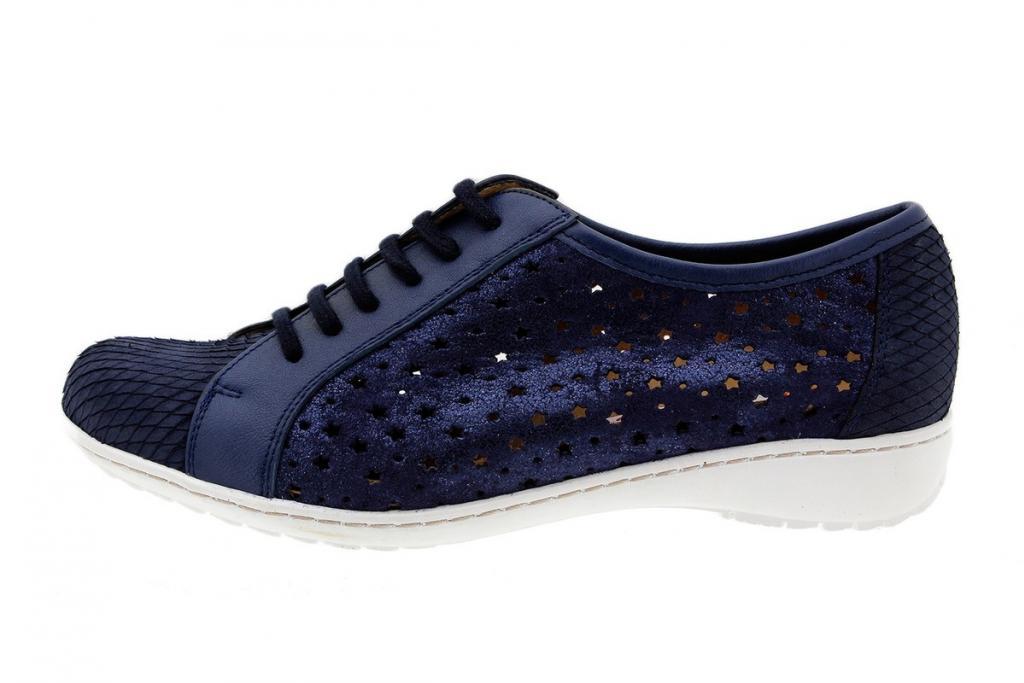 Tie shoe Print Blue 1752