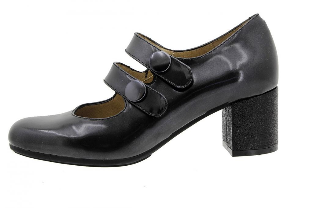 Mary-Jane Black Suede 175304