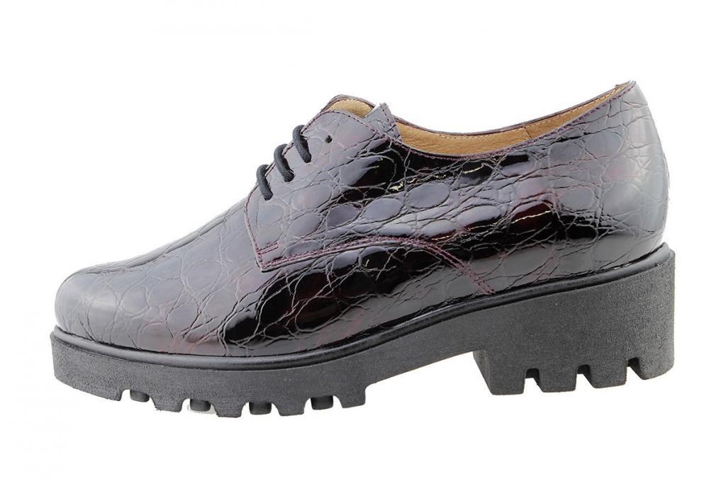 Lace-up Shoe Bordeaux Coco Patent 175551