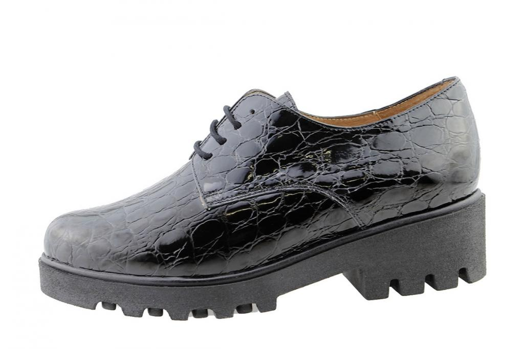 Lace-up Shoe Black Coco Patent 175551