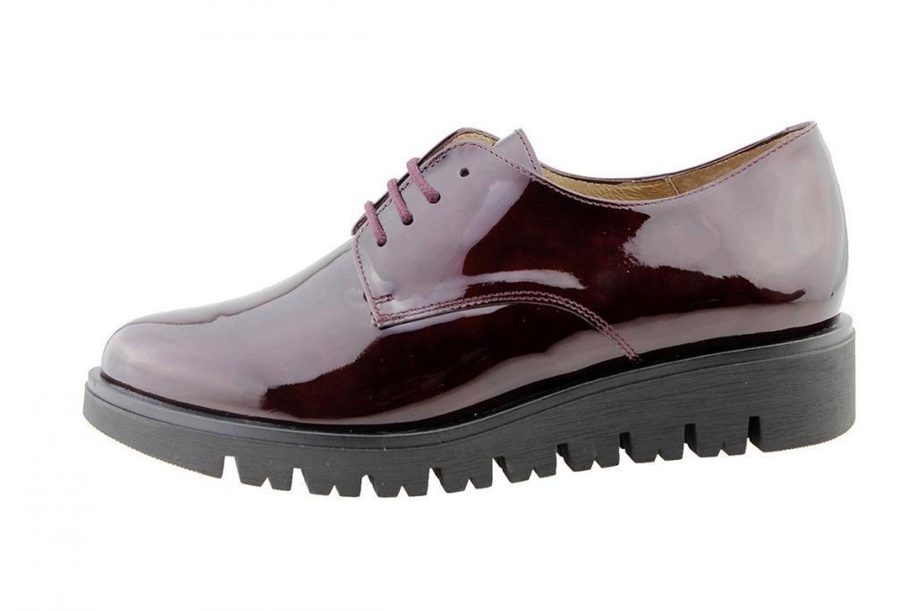 Lace-up Shoe Bordeaux Patent 175701