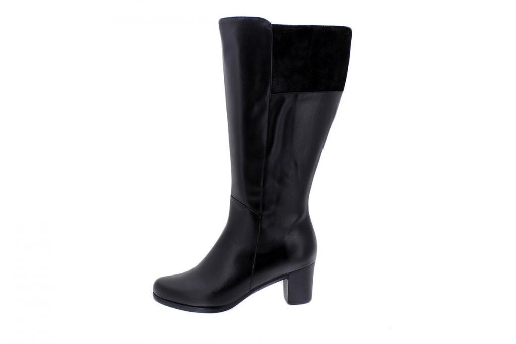Boot Black Leather 175875 XXL