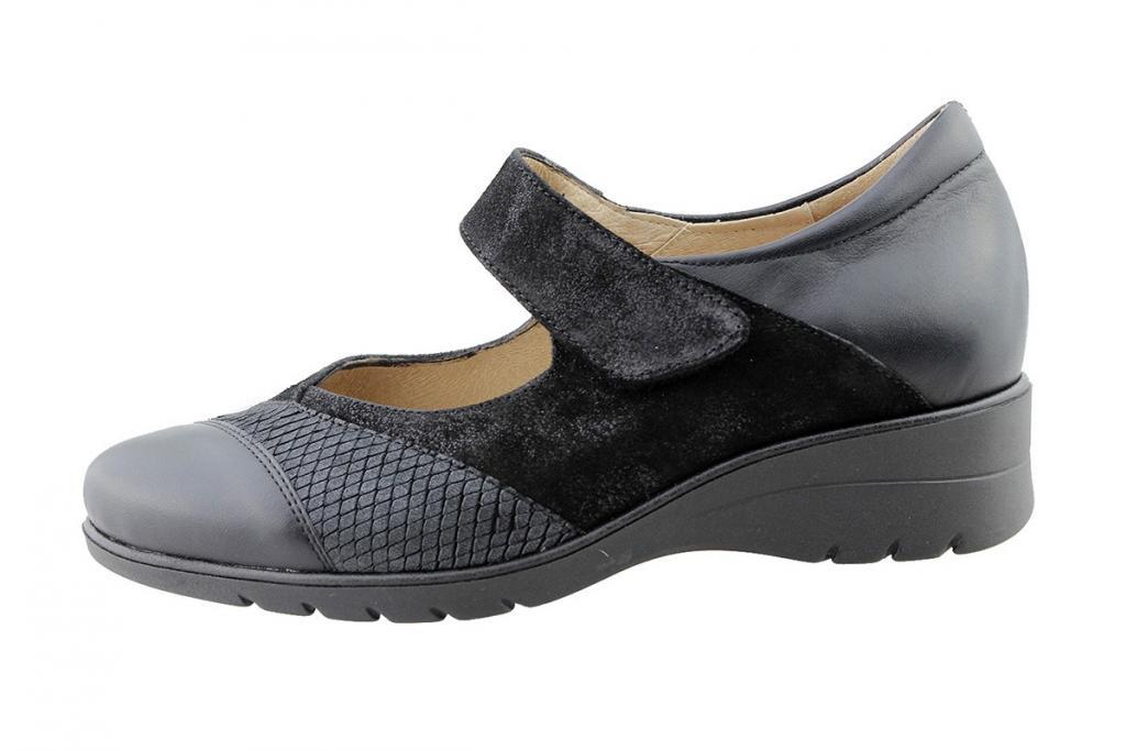 Mary-Jane Black Leather 175957