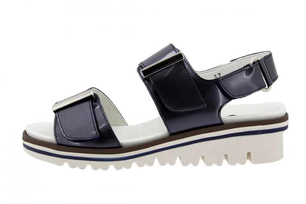 Removable Insole Sandal Mirror Blue 1777