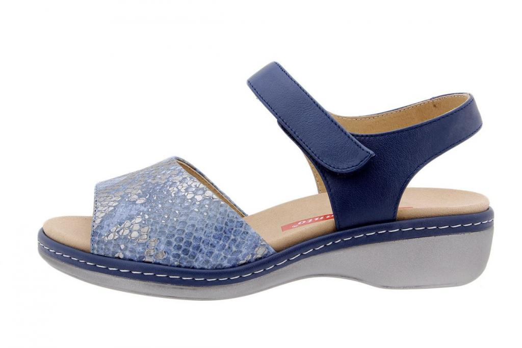 Removable Insole Sandal Snake Jeans 1807
