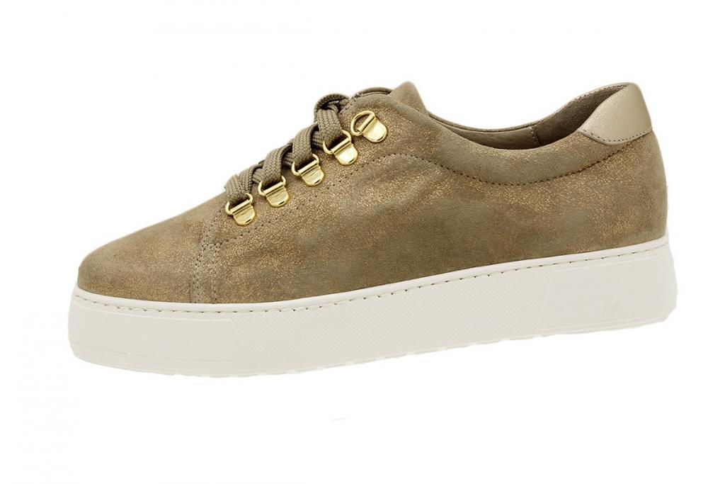 Sneaker Beige Metal Suede 180740