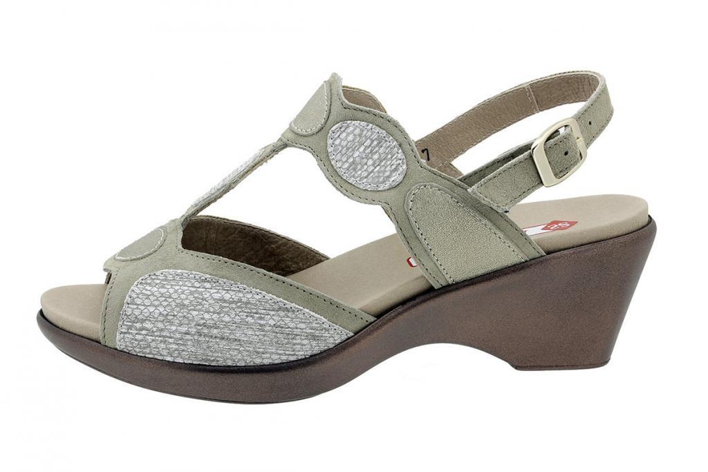 Removable Insole Sandal Mink Suede 180863