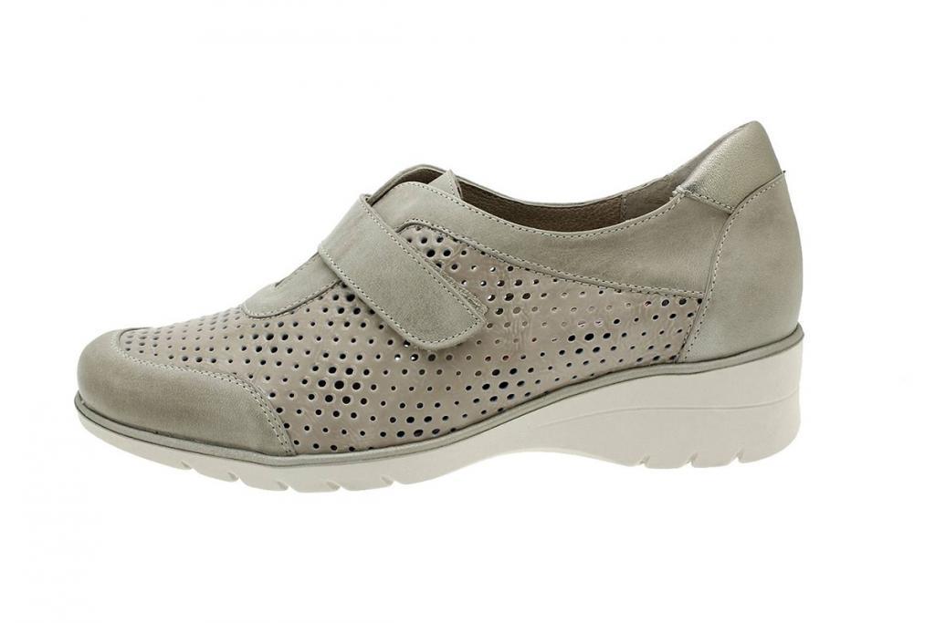 Velcro Shoe Mink Leather 180958