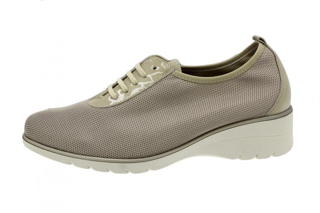 Lace-up Shoe Beige Lattice 180961