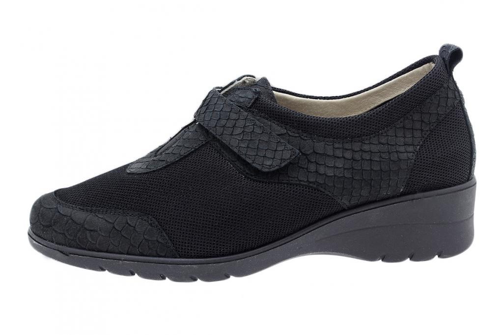 Velcro Shoe Black Snake 180962