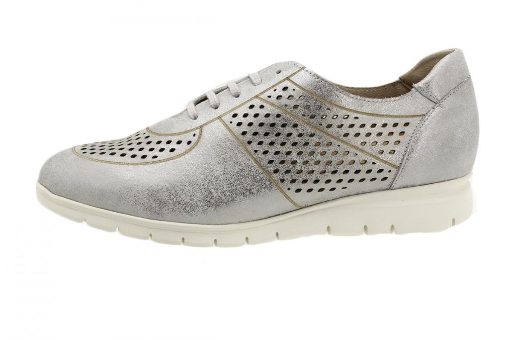 Sneaker Grey Metal Suede 180992