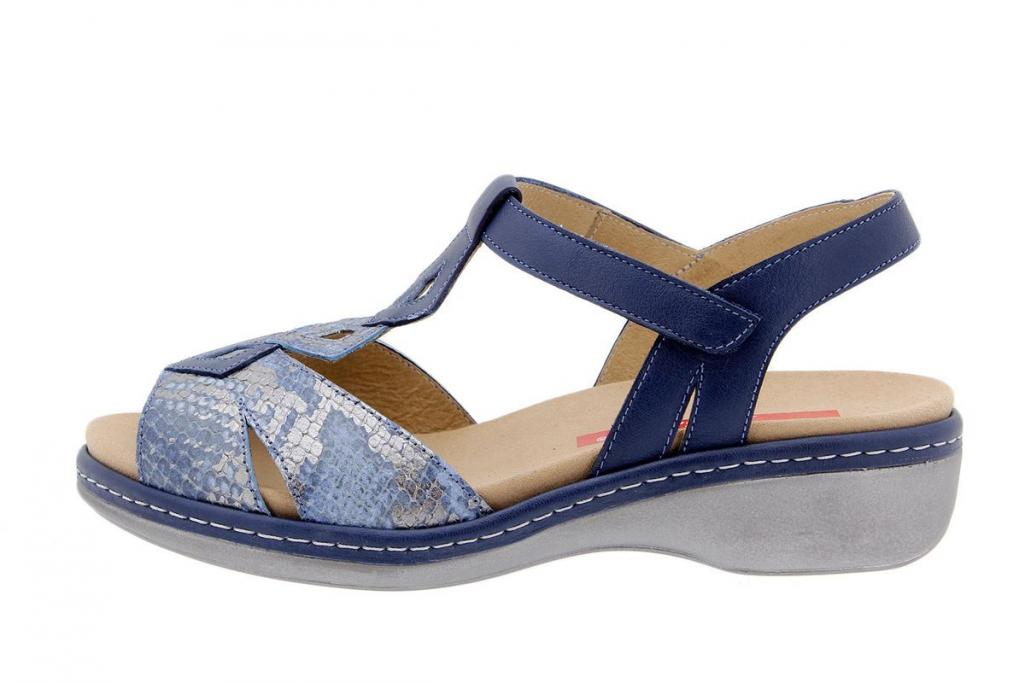 Removable Insole Sandal Snake Jeans 1821