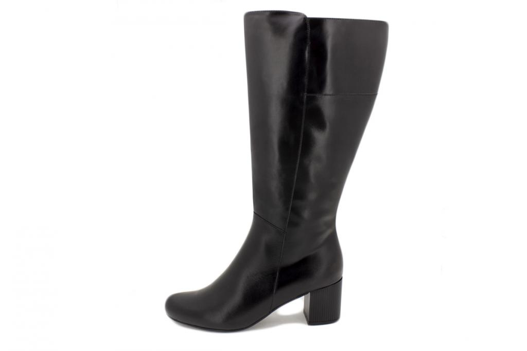 Boot Black Leather 185354 XL