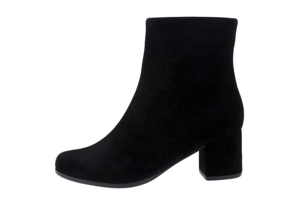 Ankle Boot Black Suede 185387