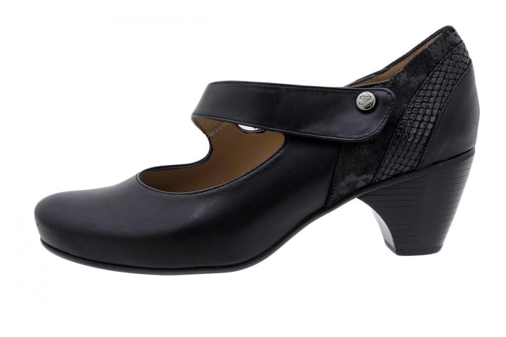 Mary-Jane Black Leather 185405