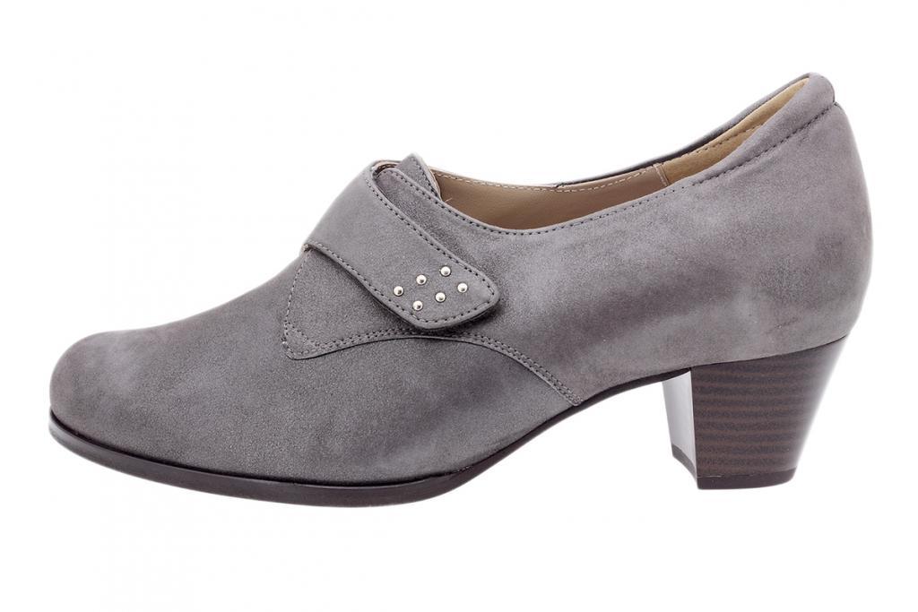 Velcro shoe Cocoa Metal Suede 185462
