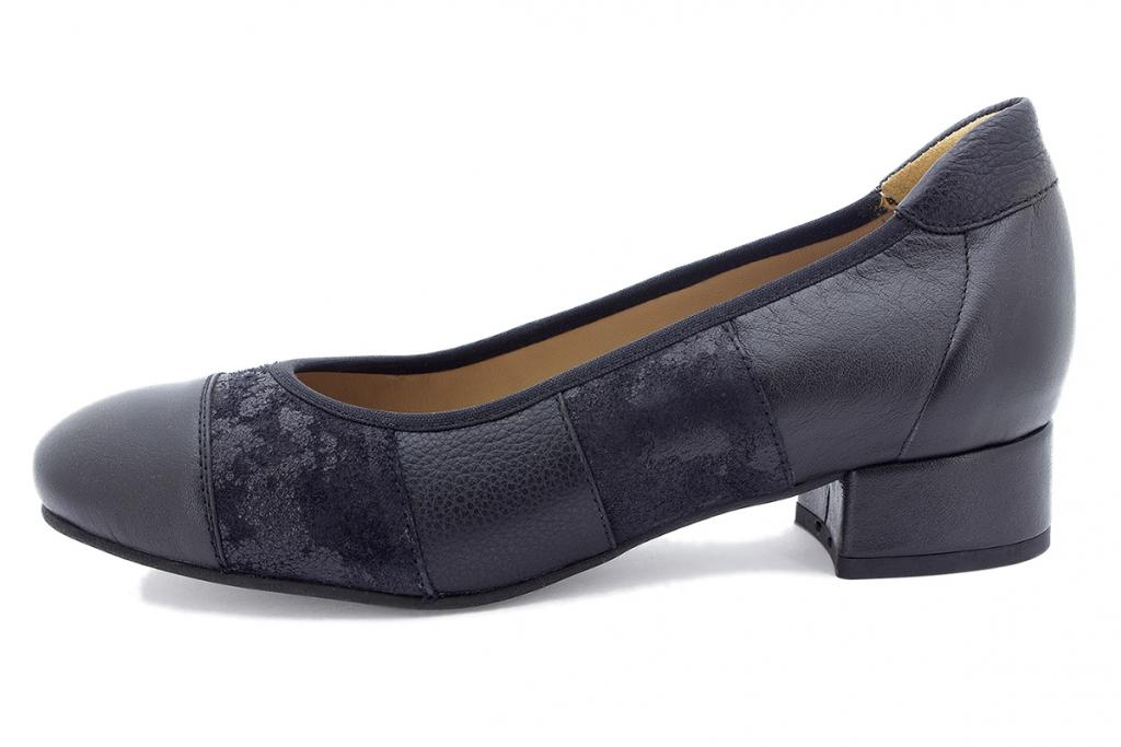 Ballerina Black Suede 185524-T