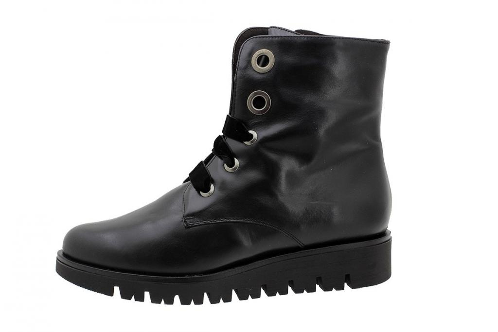 Ankle Boot Black Leather 185715