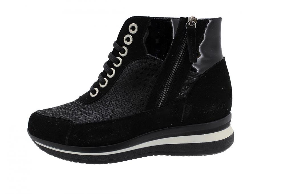 Ankle Boot Black Suede 185899