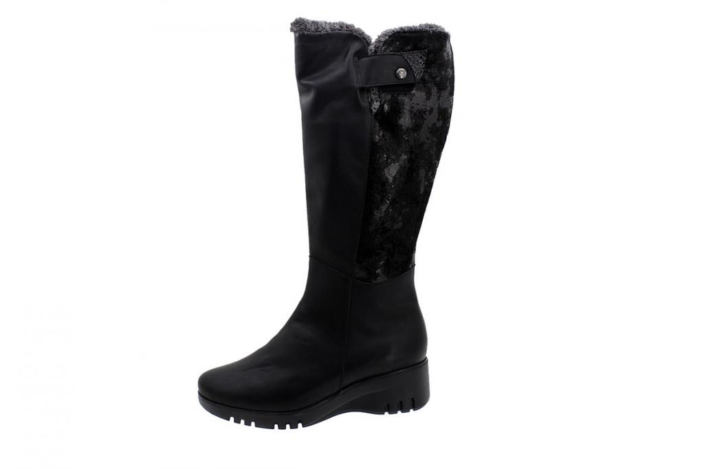 Boot Black Leather 185910 XL