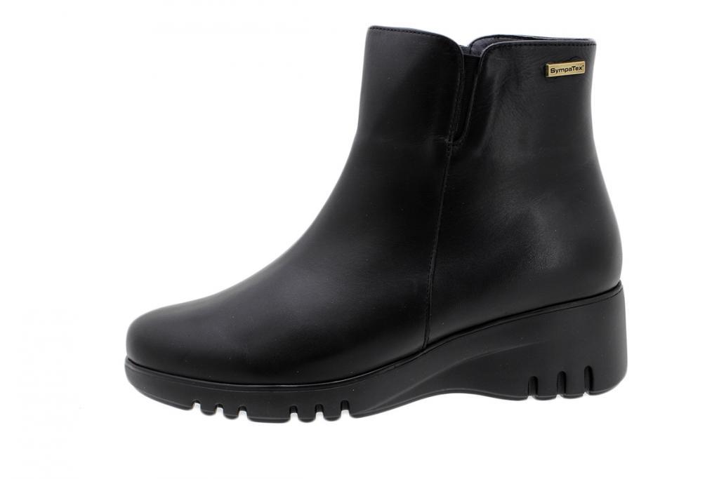 Waterproof Ankle Boot Sympatex Black Leather 185913