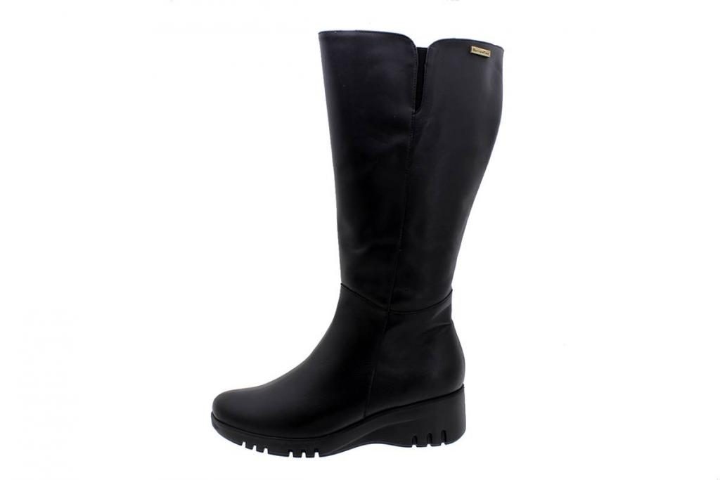 Waterproof Ankle Boot Sympatex Black Leather 185915