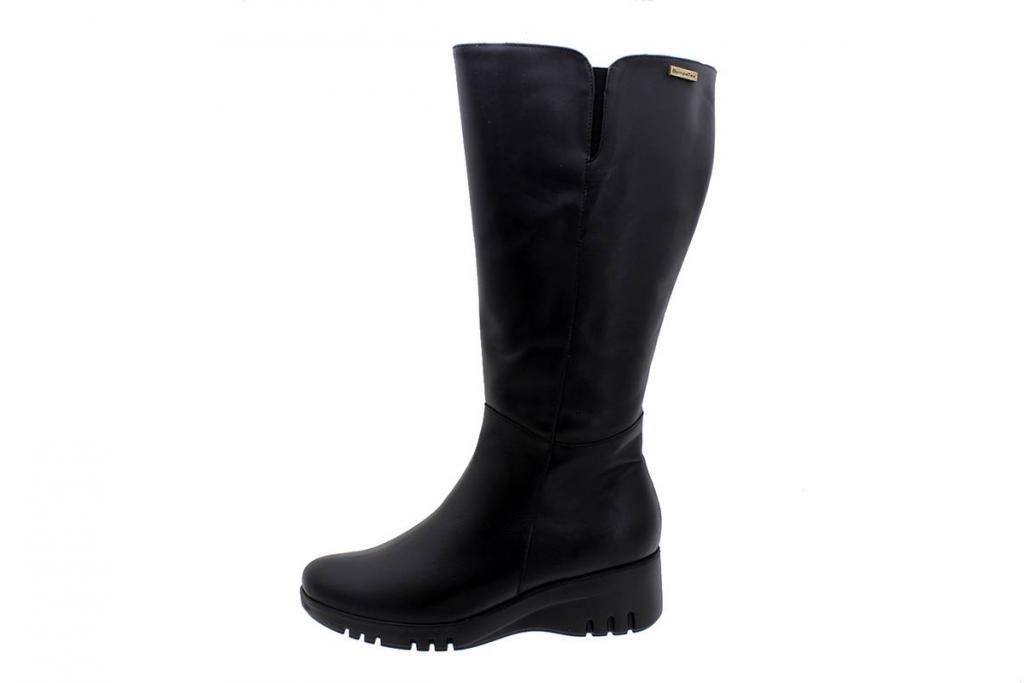 Waterproof Ankle Boot Sympatex Black Leather 185915