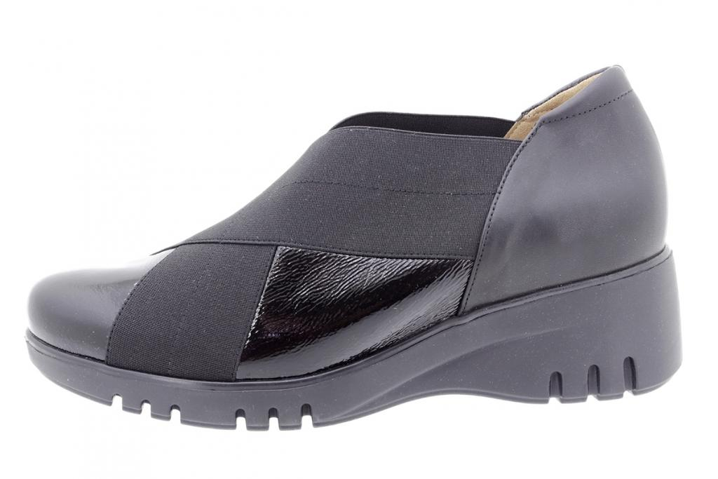 Bootee shoe Black Patent 185935