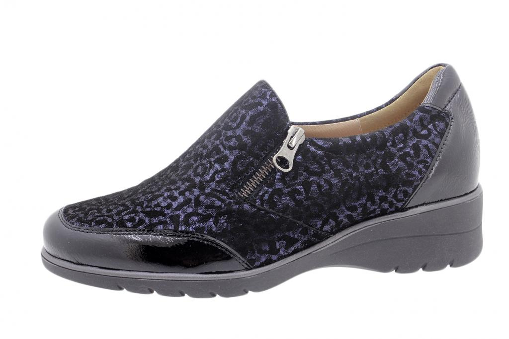 Ankle Boot Shoe Black Patent 185968