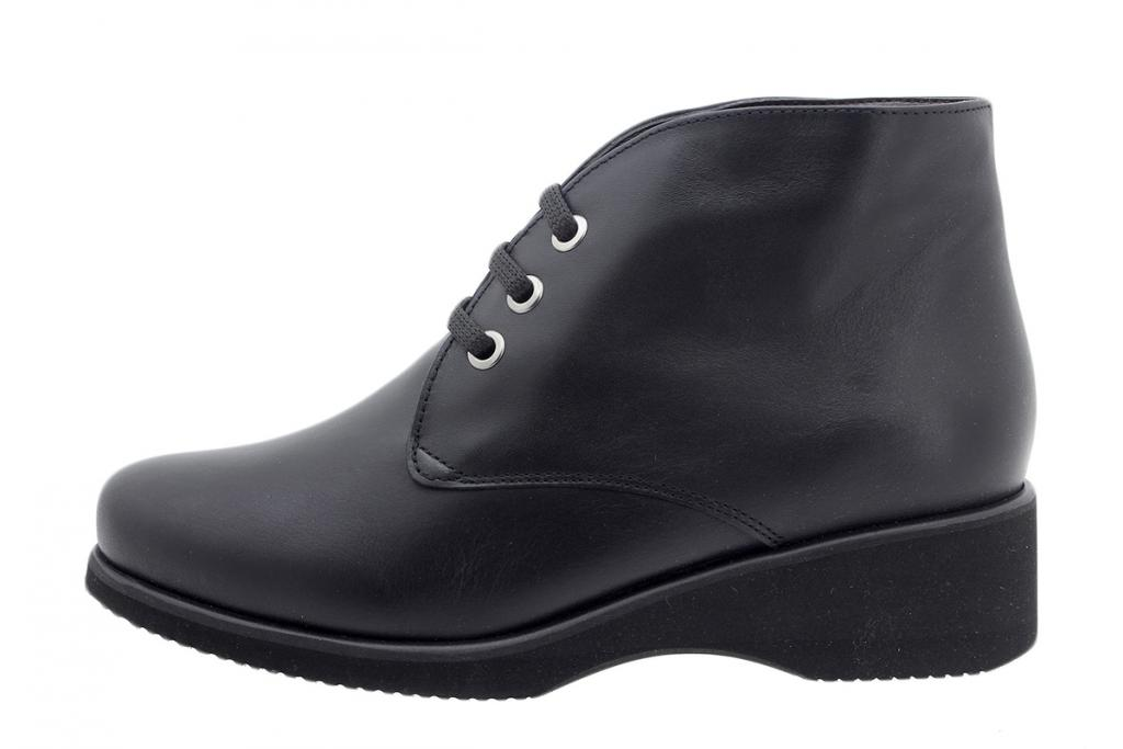 Ankle Boot Black Leather 185970