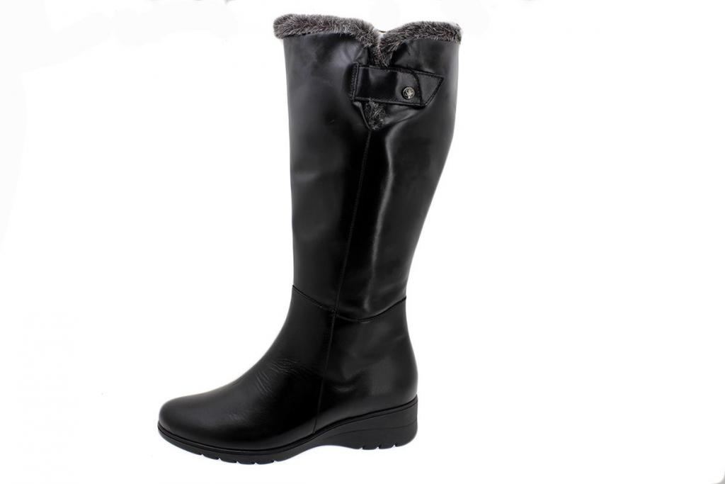 Boot Black Leather 185980 XL