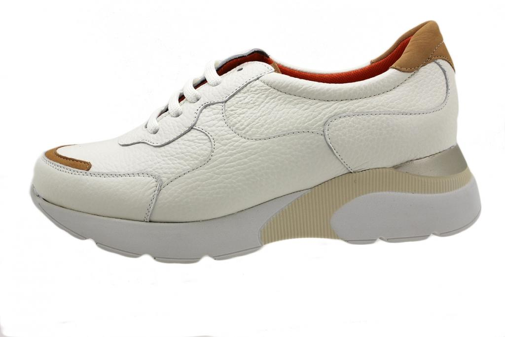 Sneaker White Leather 190075