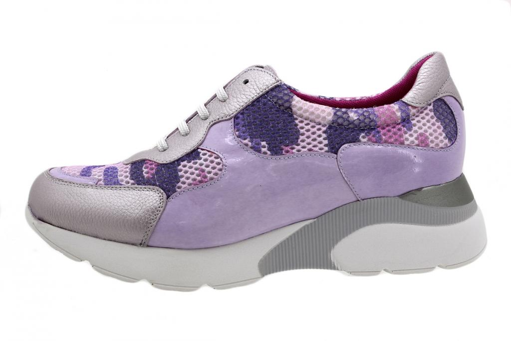 Sneaker Lilac Leather 190075