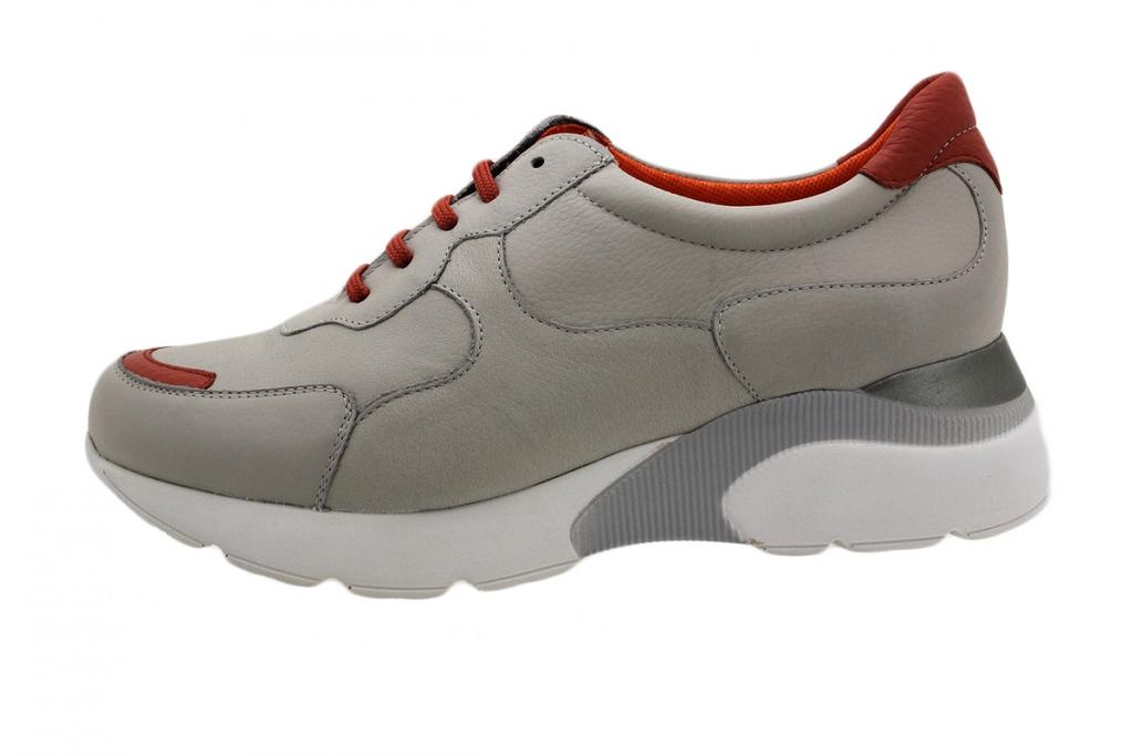 Sneaker Grey Leather 190075