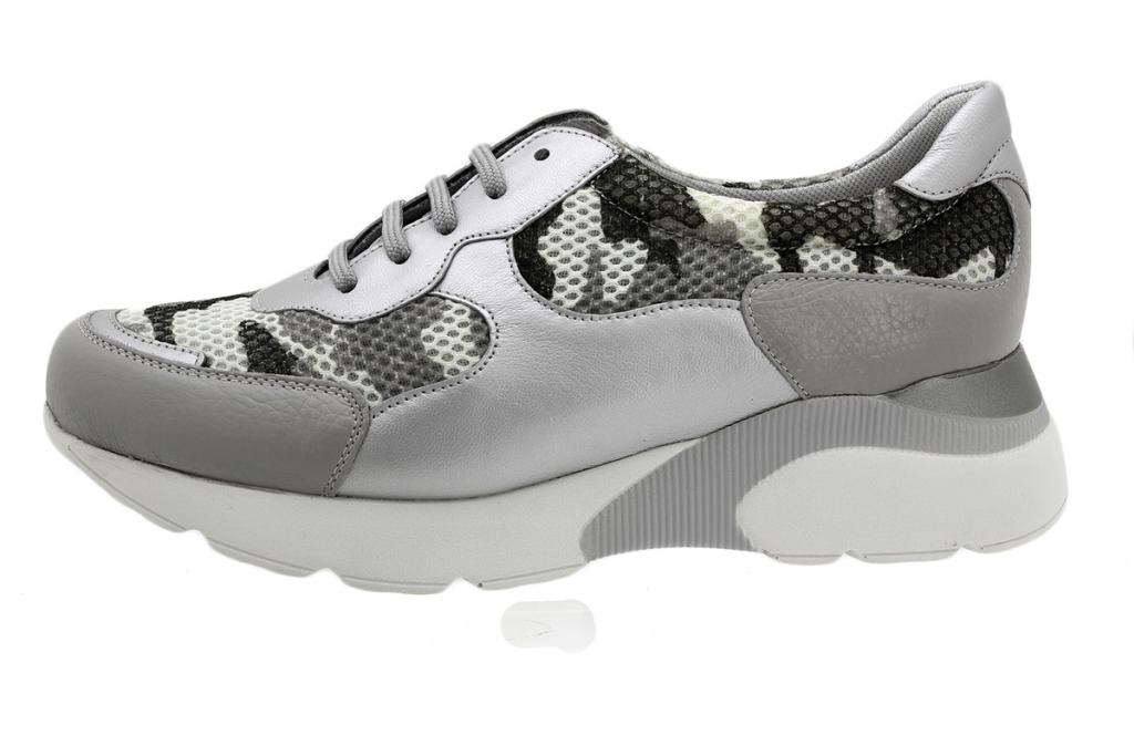 Sneaker Grey Leather 190075