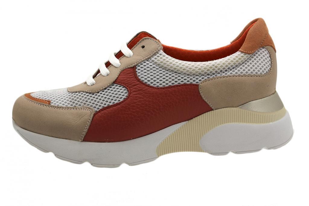Sneaker Nude Leather 190075