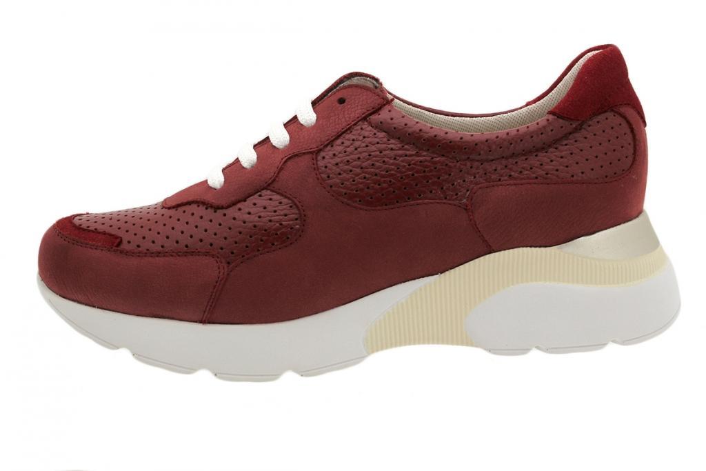 Sneaker Red Nubuck 190075