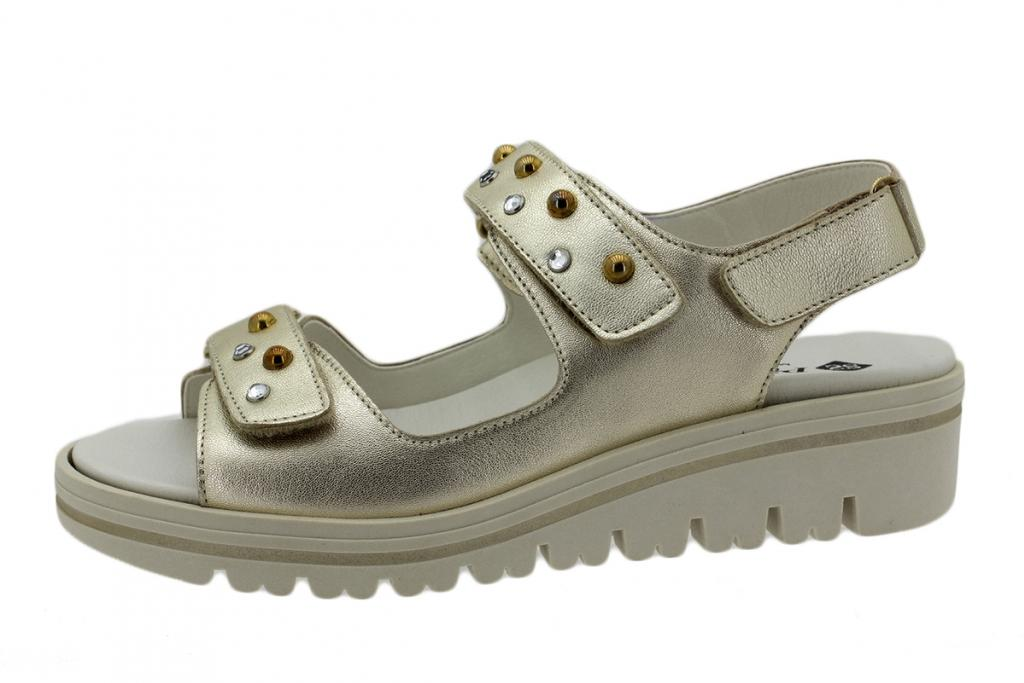Removable Insole Sandal Platinum Metal 190781