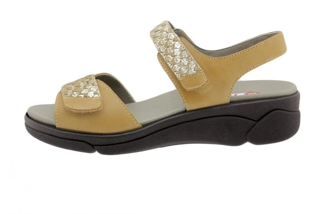 Removable Insole Sandal Tan Leather 190792