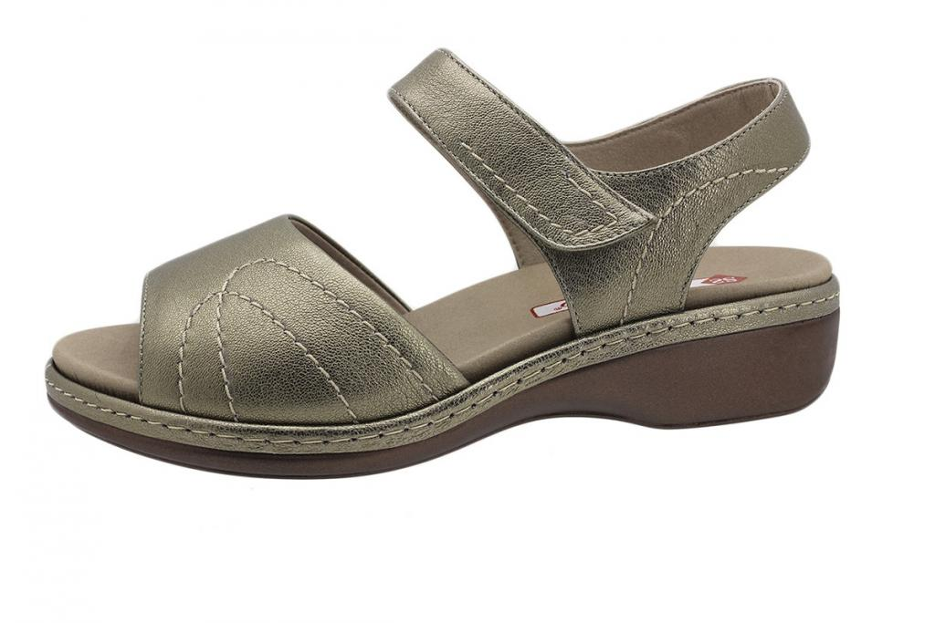 Removable Insole Sandal Mink Leather 190801