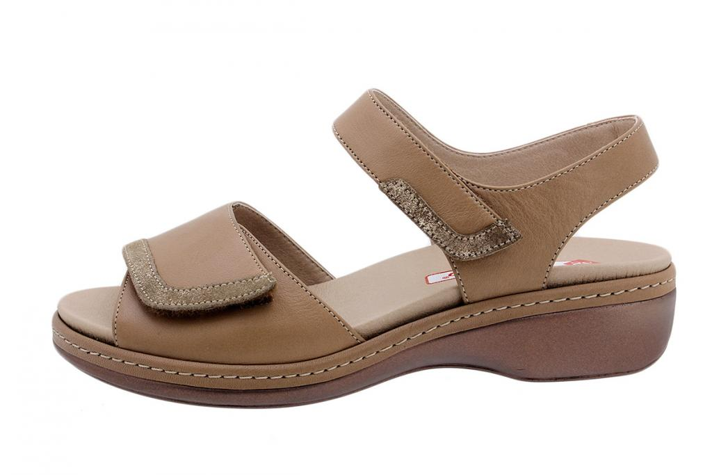 Removable Insole Sandal Sand Leather 190802