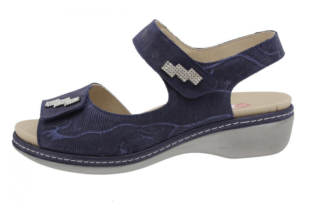 Removable Insole Sandal Blue Nubuck 190818