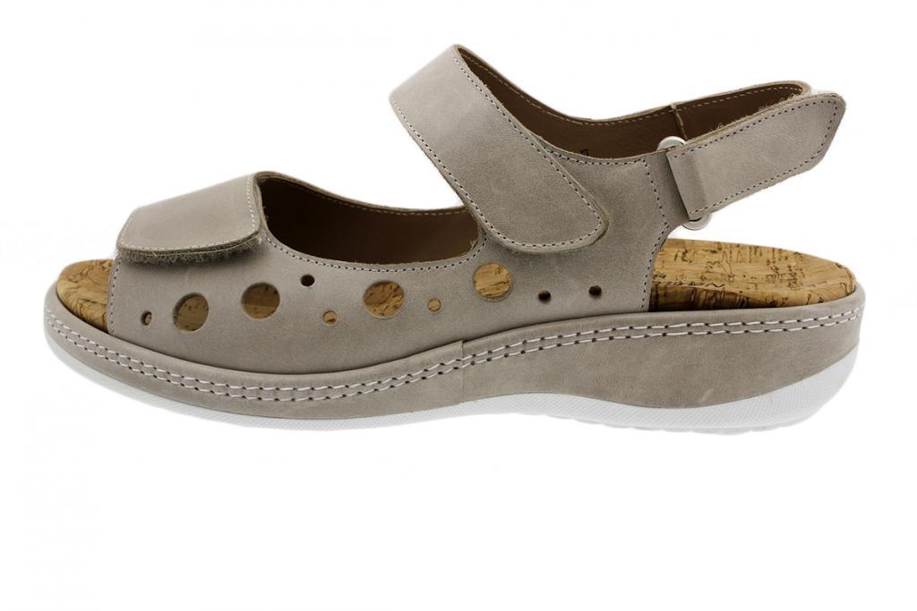 Removable Insole Sandal Mink Leather 190904