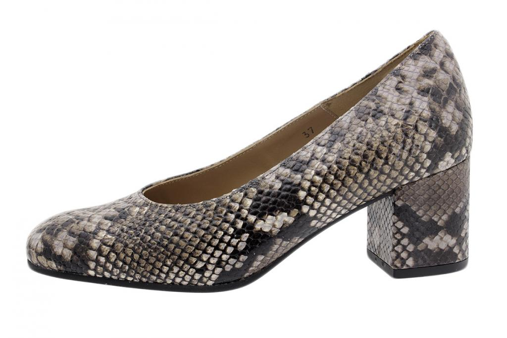 Pump Taupe Snake 195301