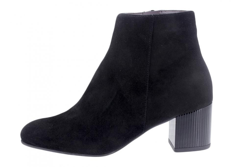 Ankle Boot Black Suede 195315