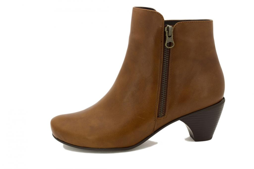 Ankle boot Cognac Leather 195415
